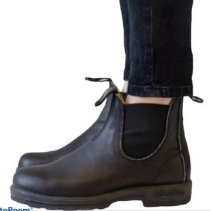 - Blundstone Black Ankle Chelsea Boots